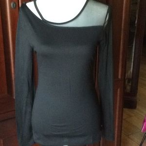 Fabletics Storm long sleeve fitted tee XS
